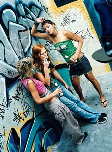 Risultati immagini per giovani drogati